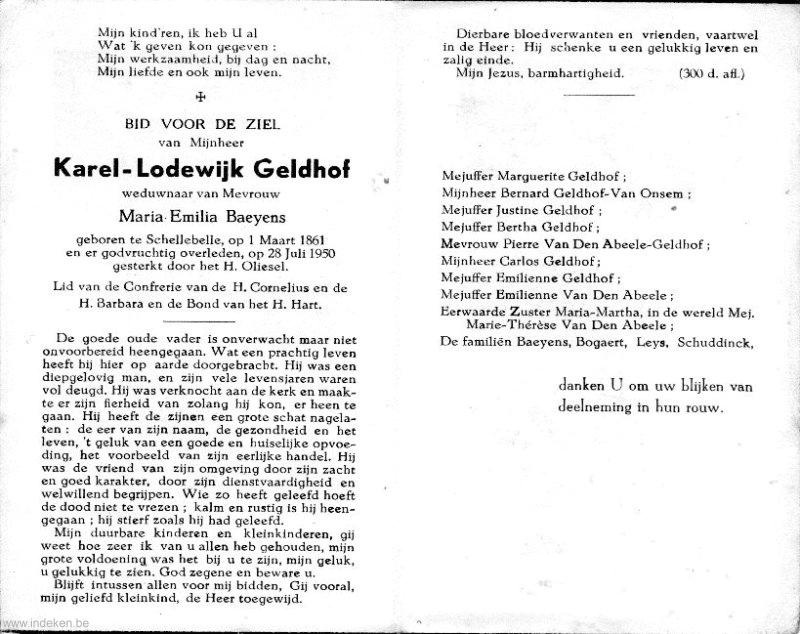 Karel Lodewijk Geldhof