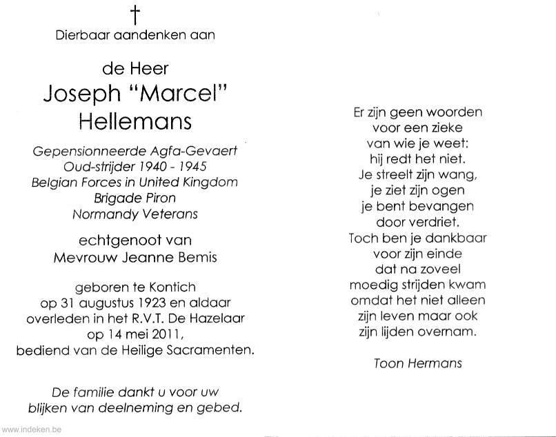 Joseph Marcel Hellemans