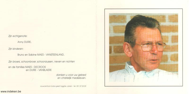Bernard Maes