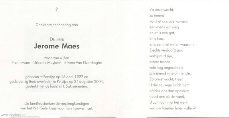 Jerome Maes