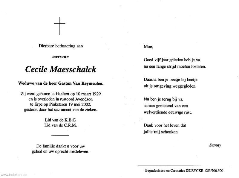Cecile Maesschalck