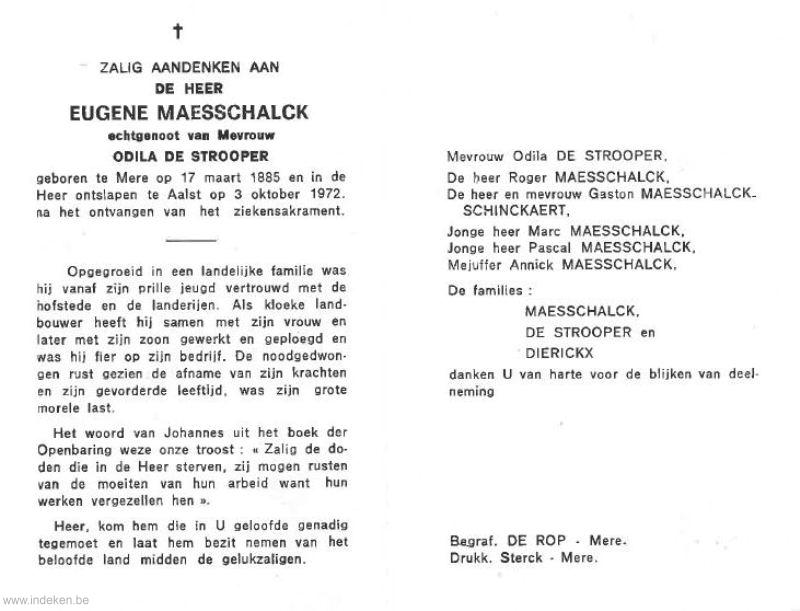 Eugene Maesschalck