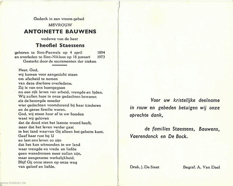 Antoinette Bauwens