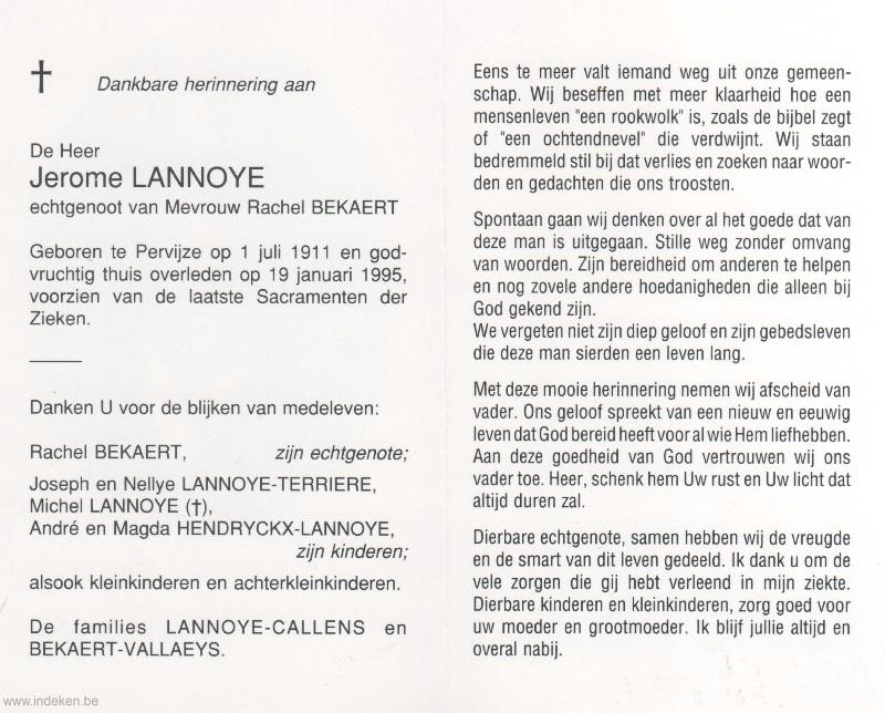 Jerome Lannoye