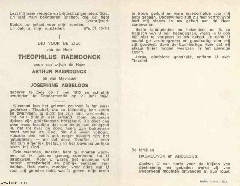 Theophillus Raemdonck