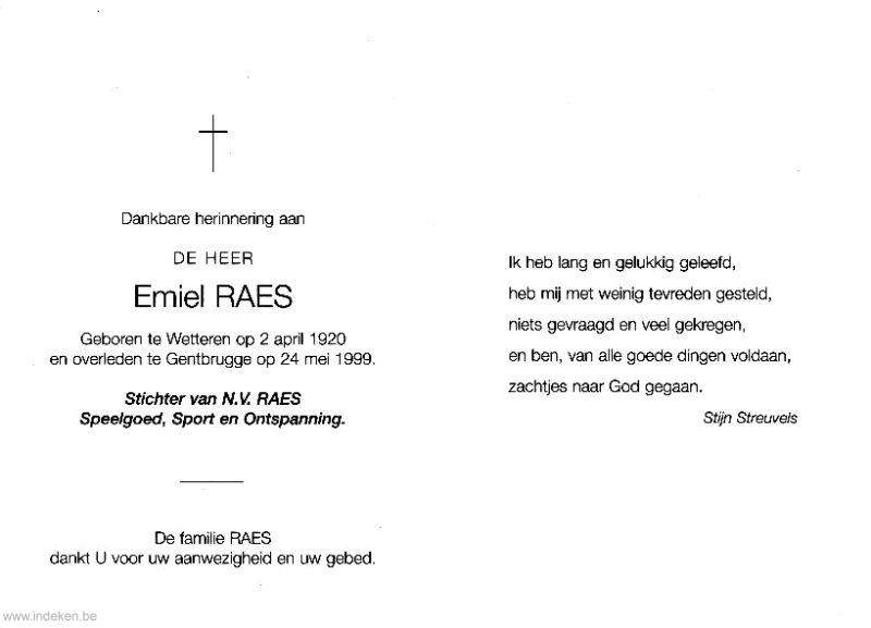 Emiel Raes
