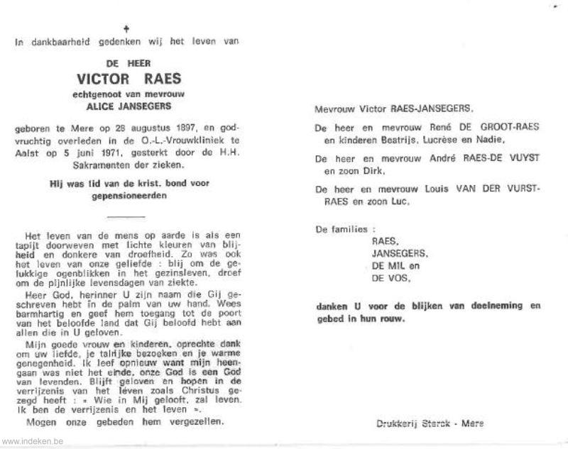 Victor Raes