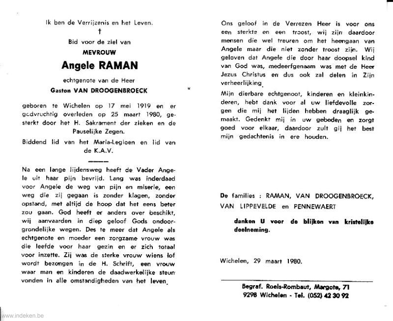 Angela Christiana Maria Raman