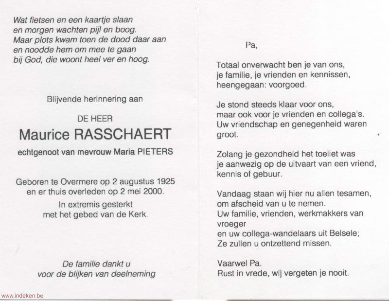 Maurice Rasschaert