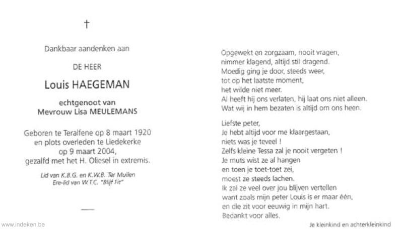 Louis Haegeman