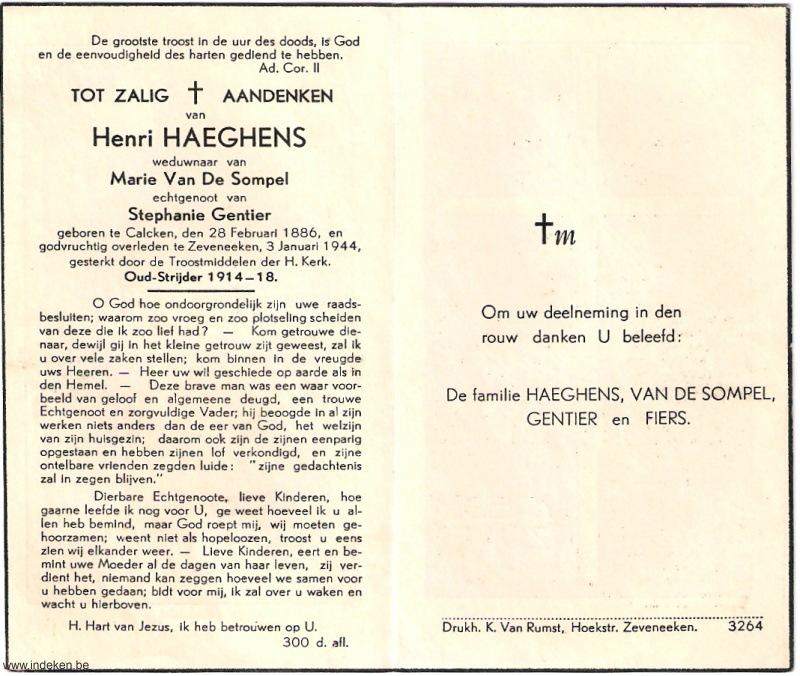 Henri Haeghens