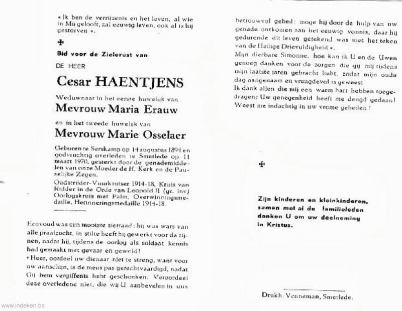 Cesar Haentjens