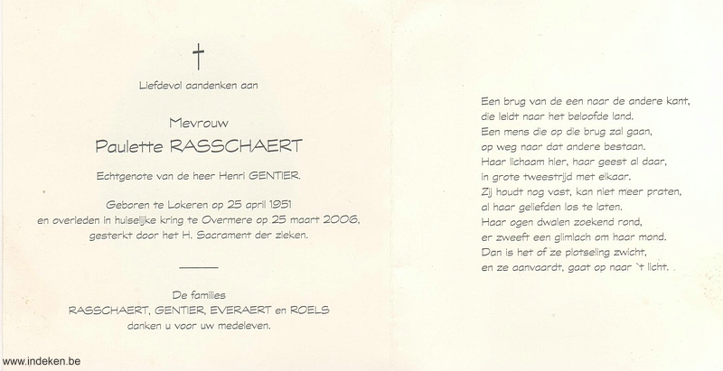 Paulette Rasschaert