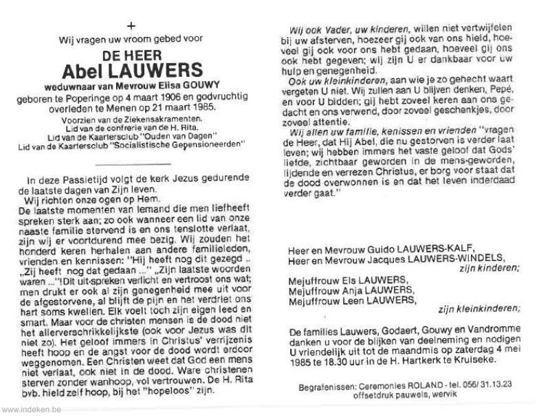 Abel Lauwers