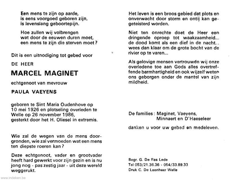 Marcel Maginet