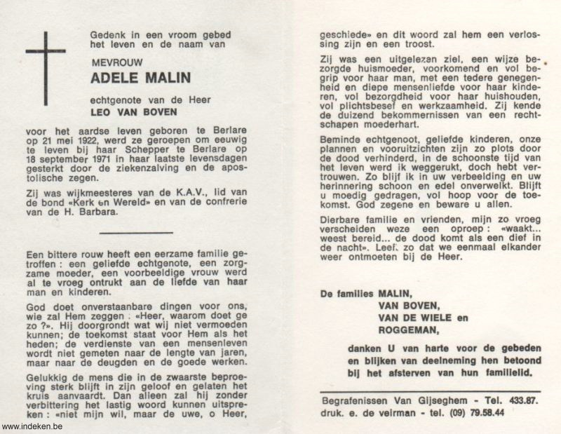Adele Malin