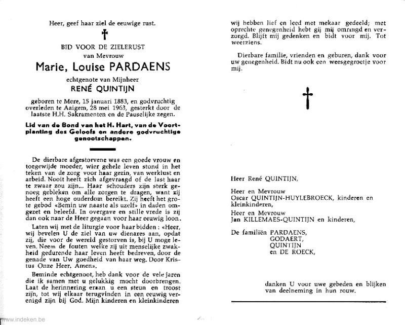 Marie Louise Pardaens