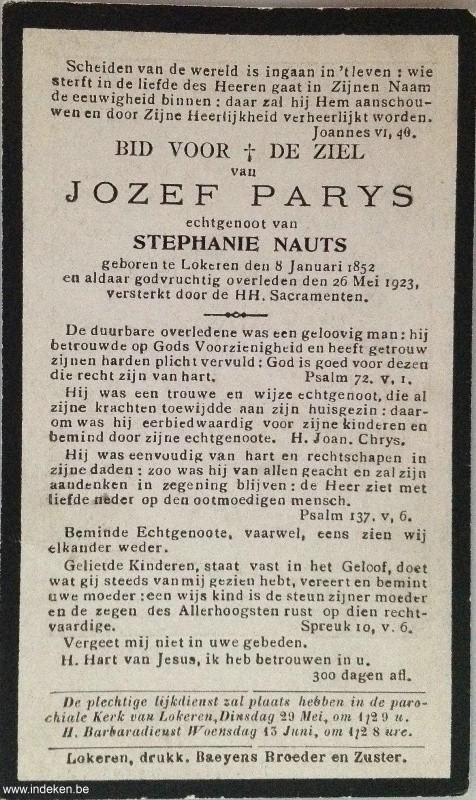 Jozef Parys