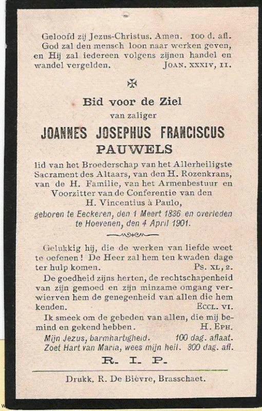 Joannes Josephus Pauwels