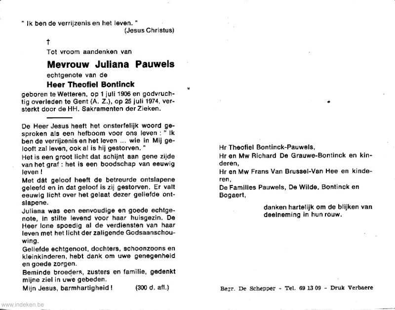 Juliana Pauwels