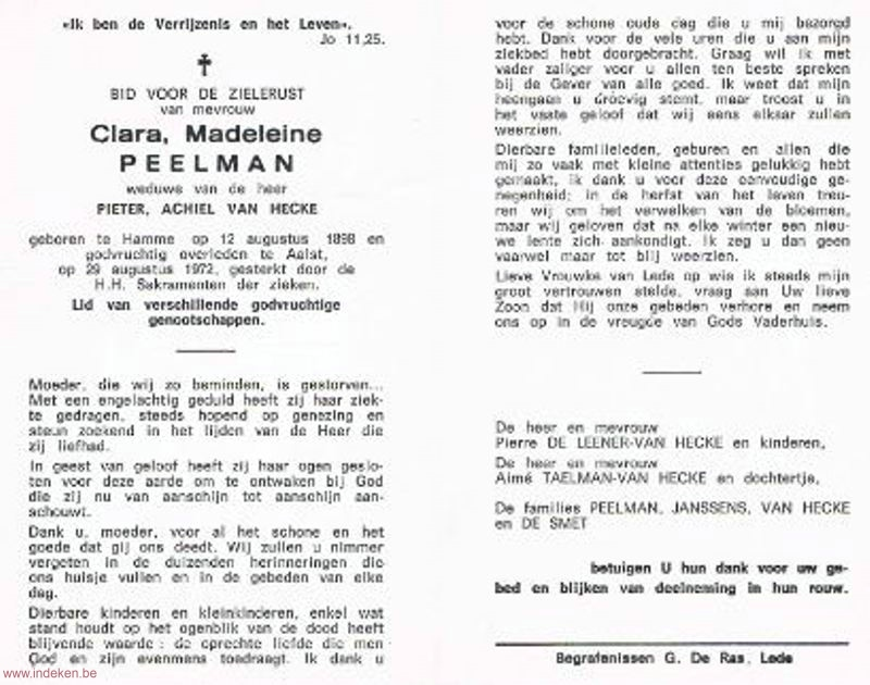 Clara Madeleine Peelman