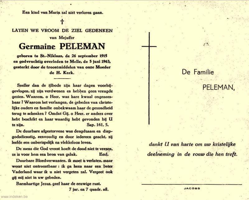 Germaine Peleman