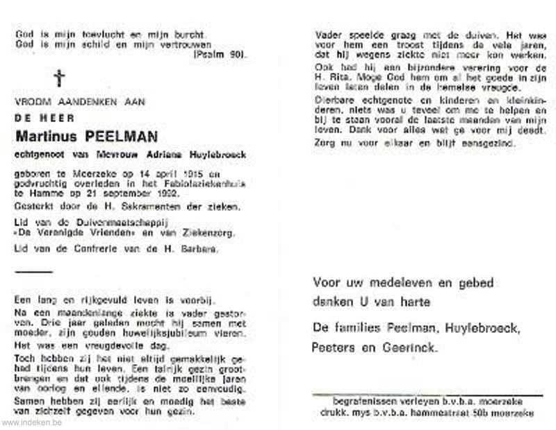 Martinus Peelman