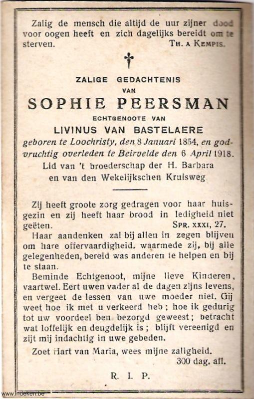 Sophie Peersman