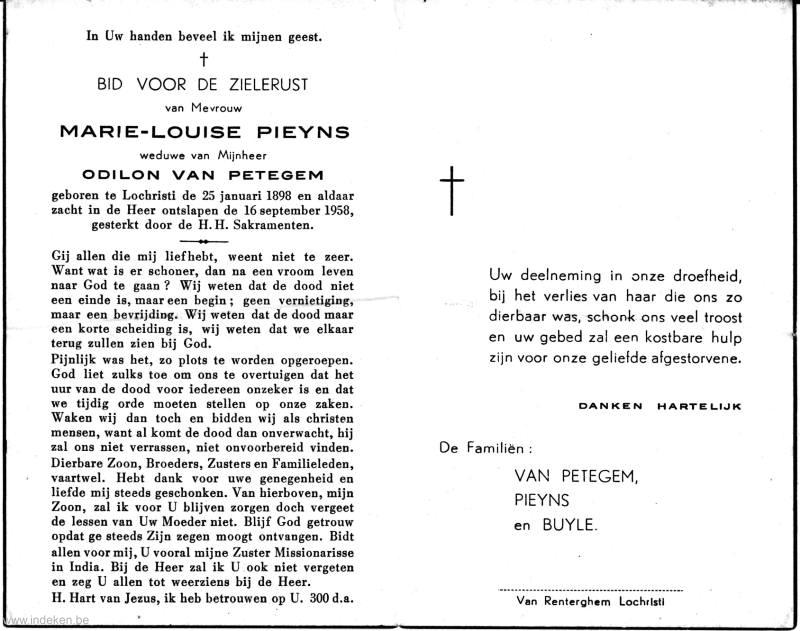 Marie Ludovica Juliana Pieyns