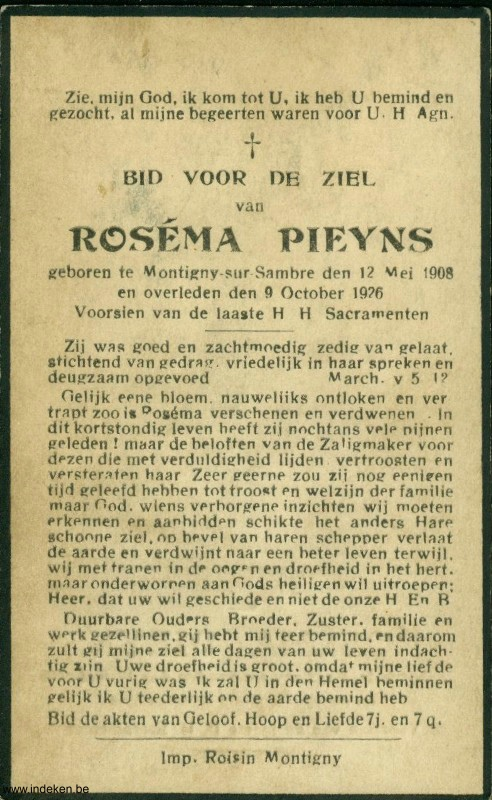Roséma Pieyns