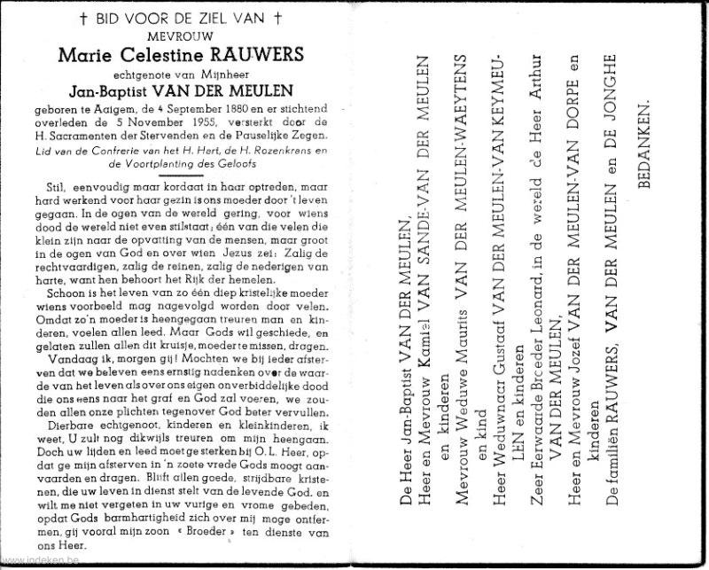 Marie Celestine Rauwers