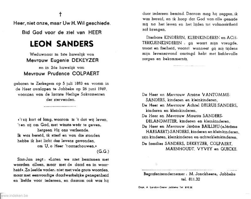 Leon Sanders