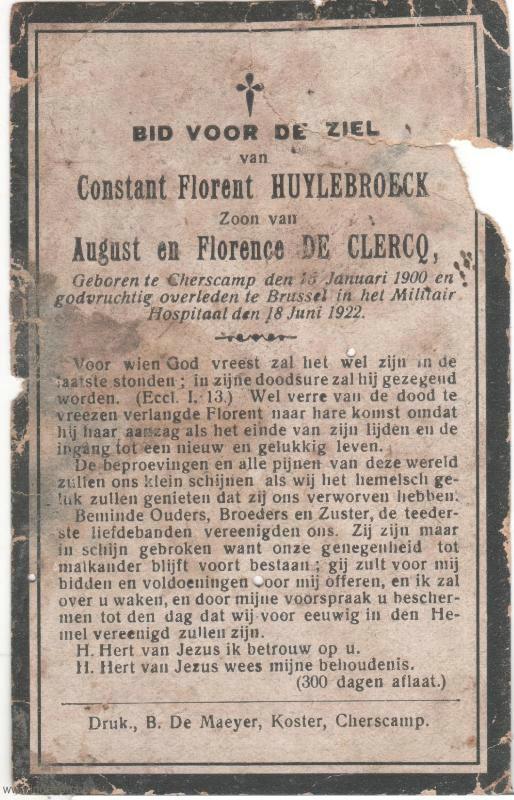 Constant Florent Huylebroeck