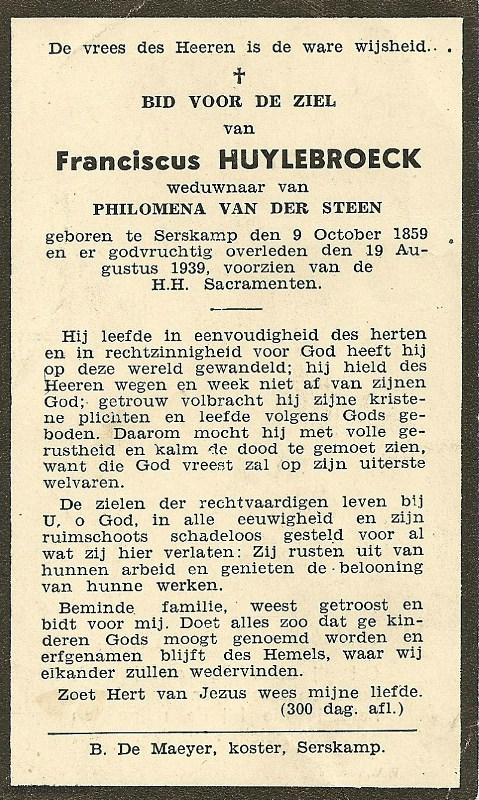 Franciscus Huylebroeck