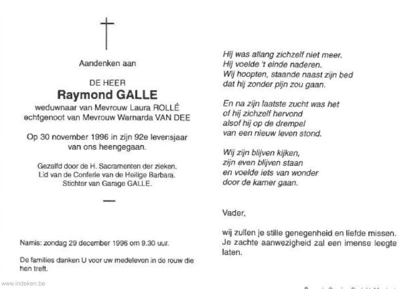 Raymond Galle