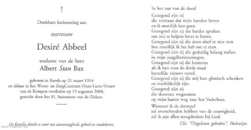 Maria Desideria Abbeel