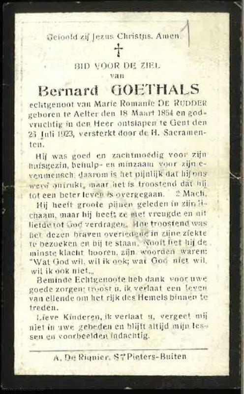 Bernardus Goethals