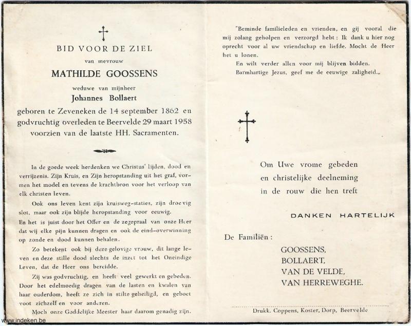 Mathilde Goossens