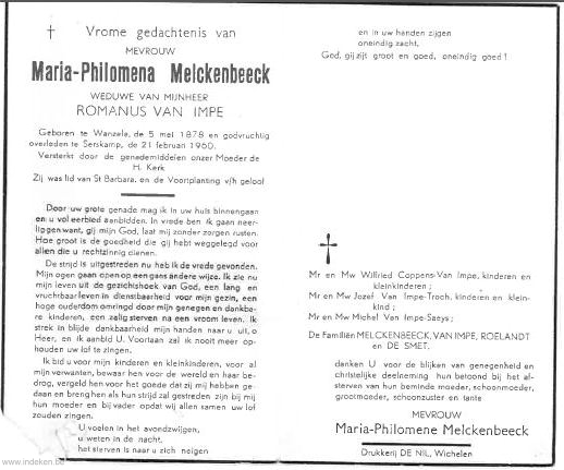 Maria Philomena Melckenbeeck
