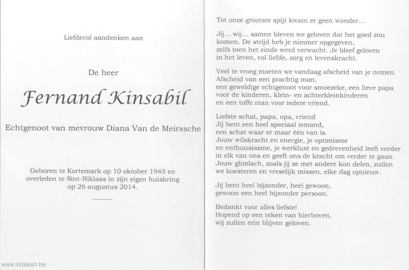 Fernand Kinsabil