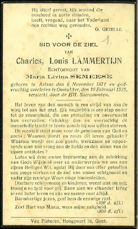 Charles Louis Lammertijn