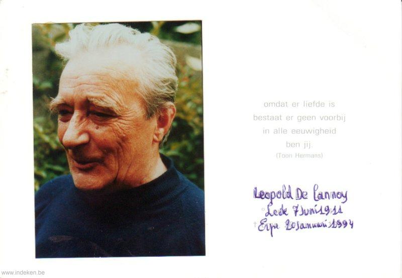 Leopold De Lannoy