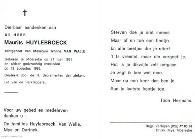 Maurits Huylebroeck