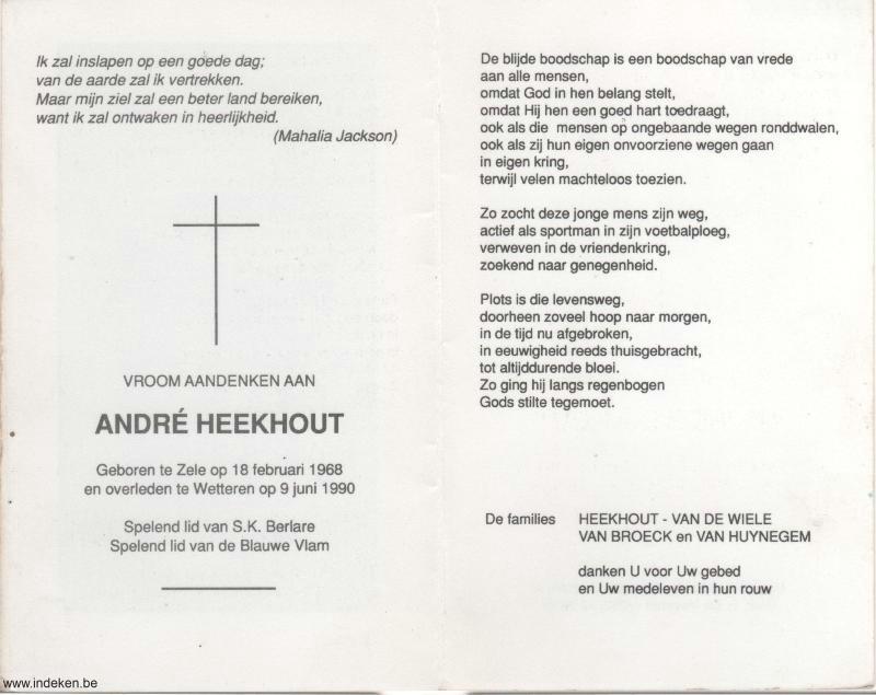 André Heekhout