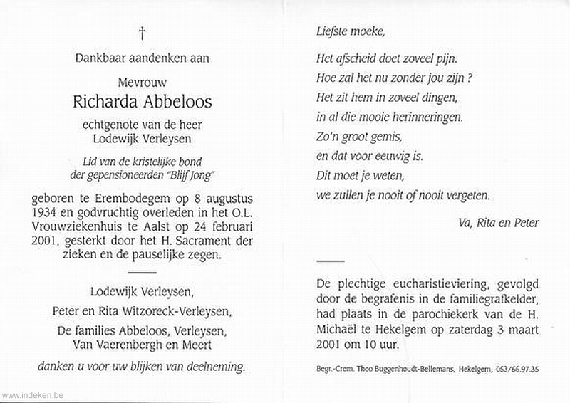 Richarda Abbeloos