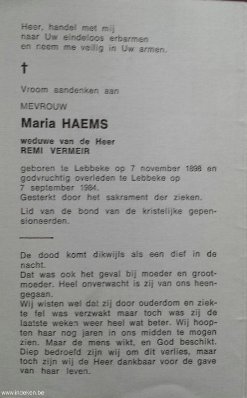 Maria Haems