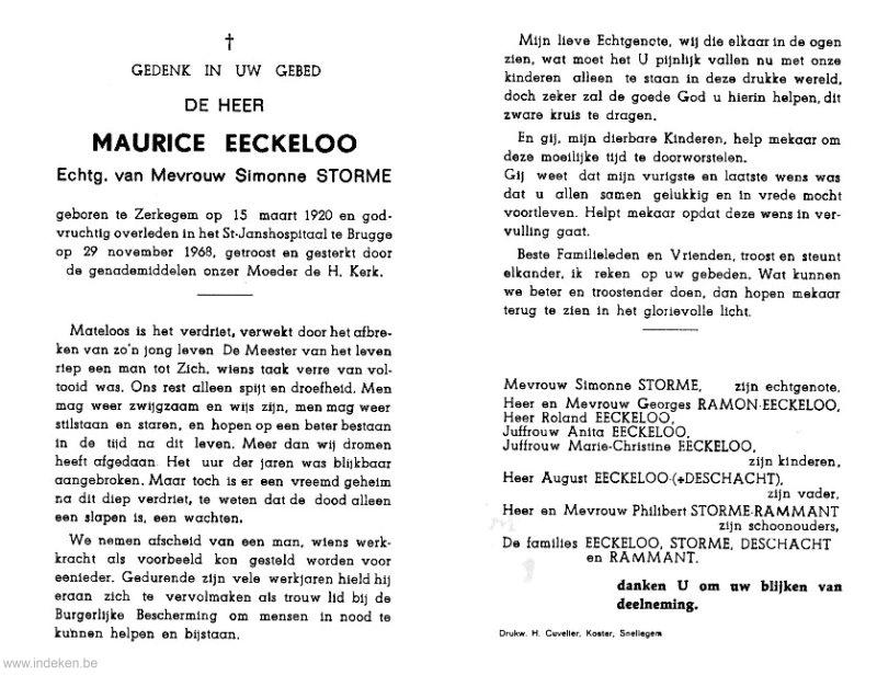 Maurice Eeckeloo