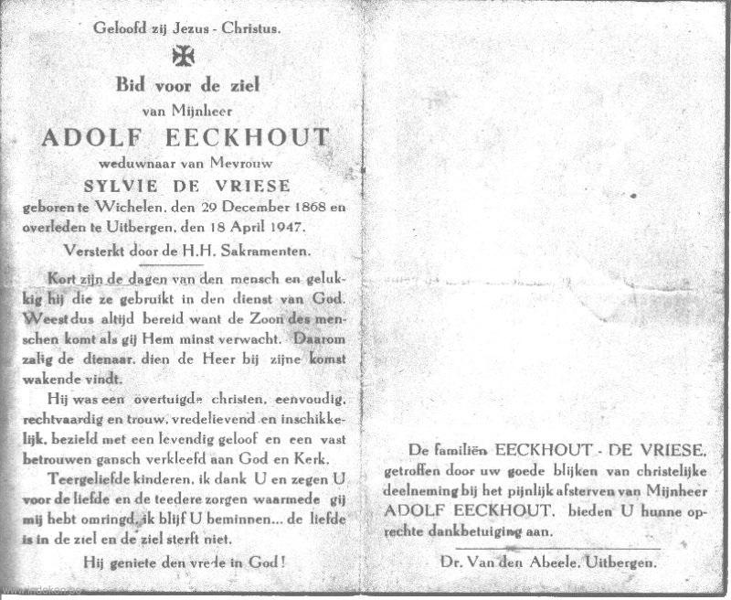 Adolf Eeckhout