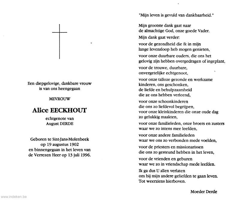 Alice Eeckhout