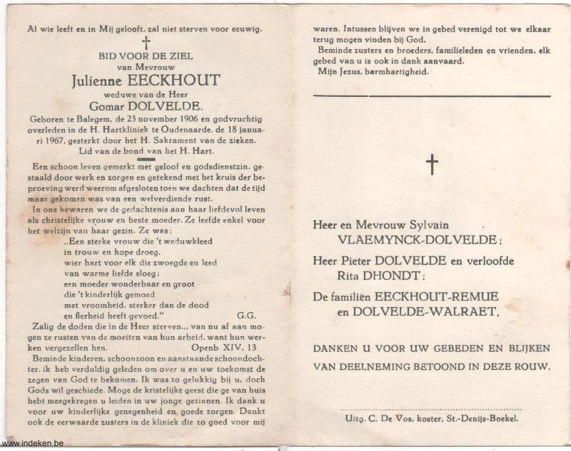Julienne Eeckhout